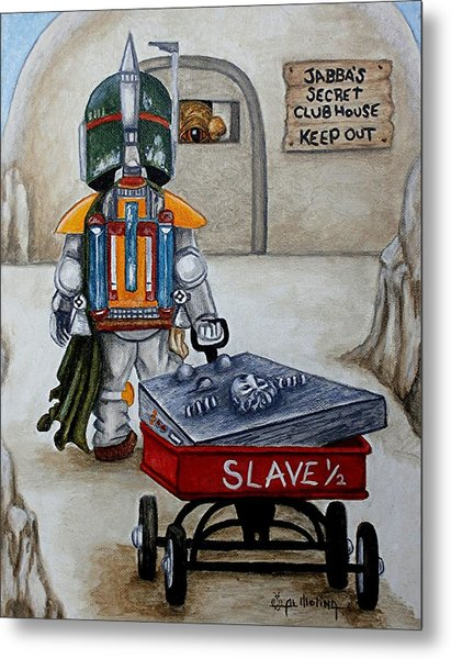 Jabba's Gift Metal Print