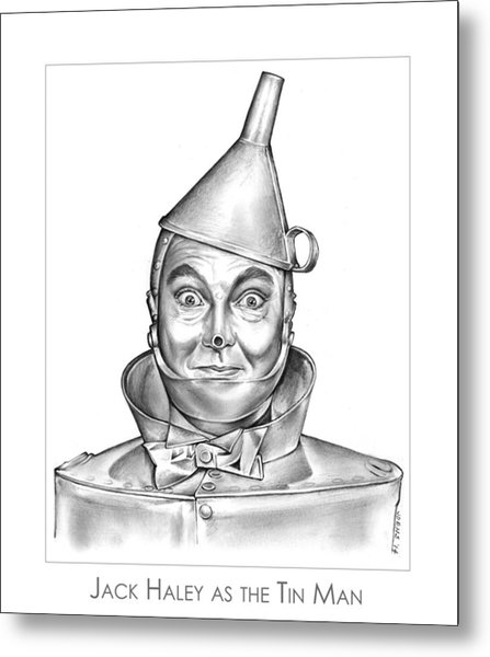 Jack Haley As The Tin Man Metal Print