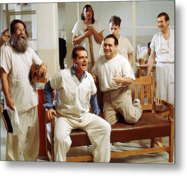 Jack Nicholson In One Flew Over The Cuckoo's Nest  Metal Print