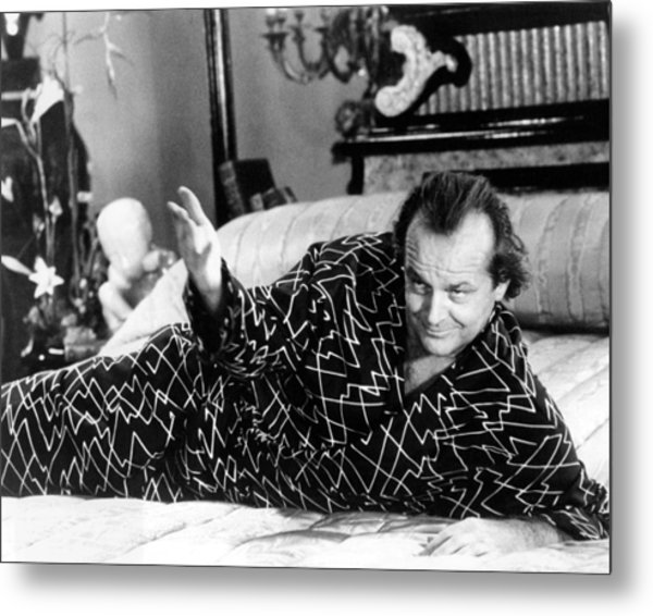 Jack Nicholson In The Witches Of Eastwick  Metal Print