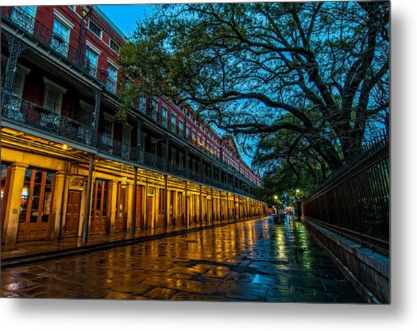 Jackson Square At Dawn Metal Print