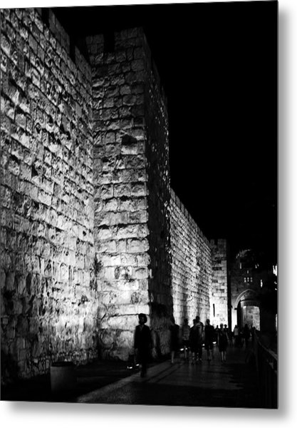 Jaffa Gate Metal Print by Amr Miqdadi