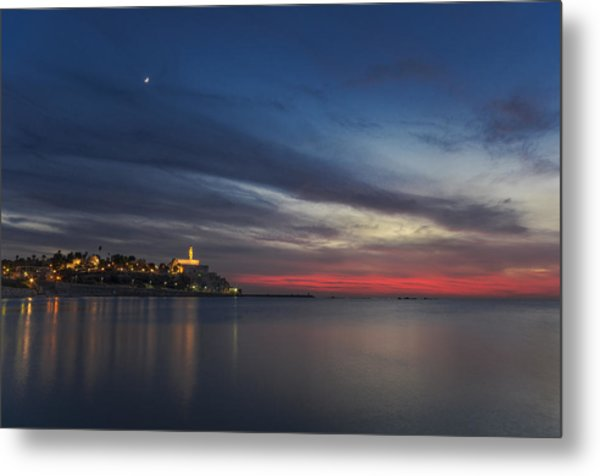 Metal Print featuring the photograph Jaffa On Ice by Ron Shoshani