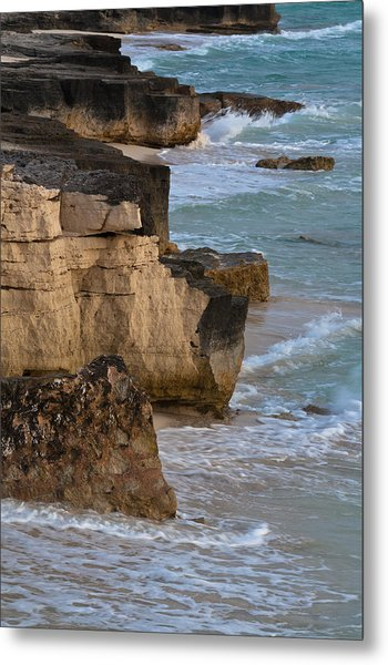 Jagged Shore Metal Print
