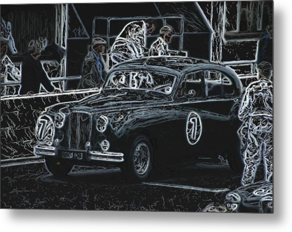 Jaguar Markvii 1952 Metal Print
