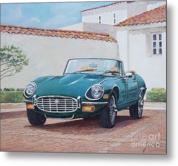 Jaguar Xke 1961-1975 Metal Print