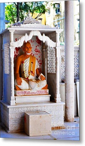 Jain Idol Metal Print