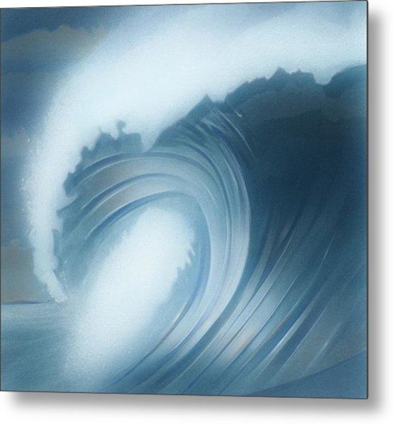 Jalama Surf Metal Print