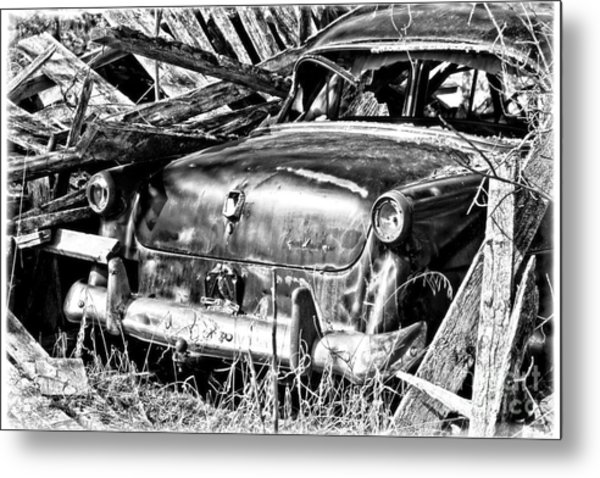 Jalopy For Rent Metal Print