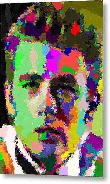 James Dean Portrait Metal Print