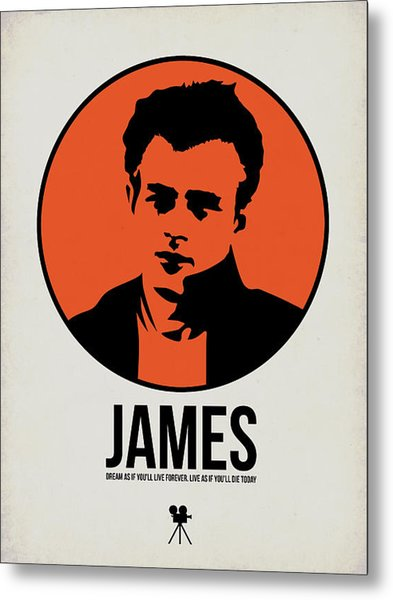 James Poster 1 Metal Print