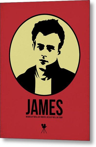 James Poster 2 Metal Print