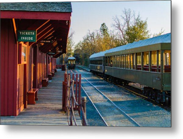 Jamestown Station Metal Print