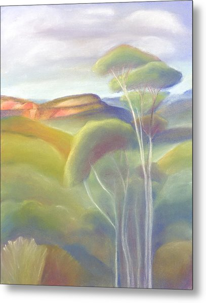 Jamison Valley Blue Mountains National Park Nsw Australia Metal Print