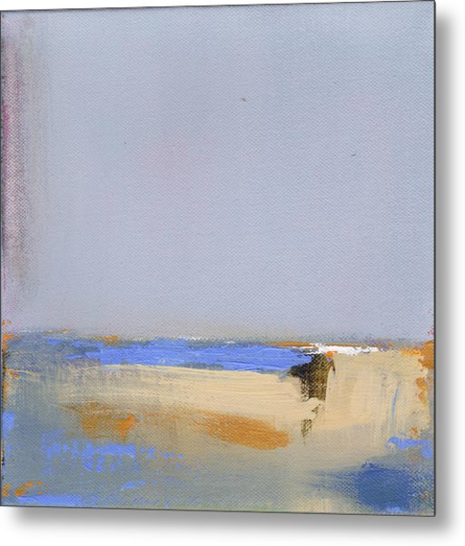 January Harbor Metal Print by Jacquie Gouveia