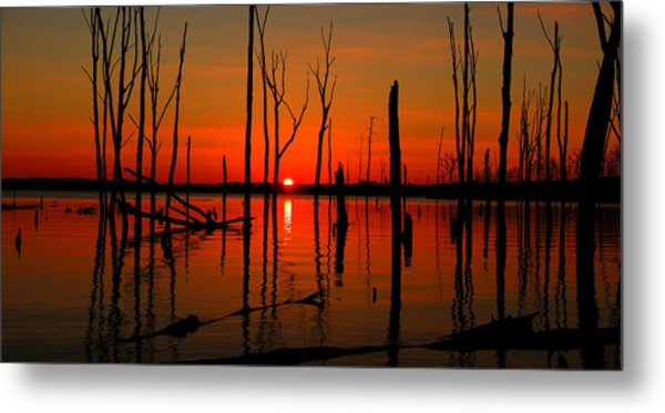 January Sunrise Metal Print