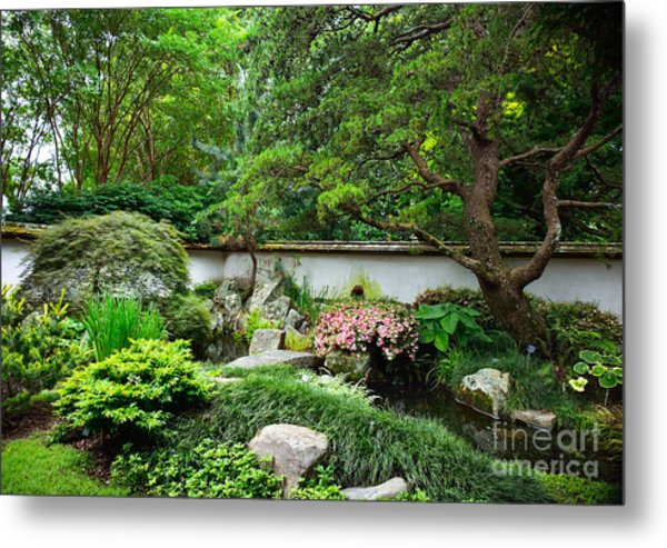 Japanese Gardens Metal Print