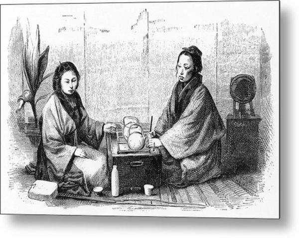 Japanese Tea Ceremony (sado);  A Custom Metal Print