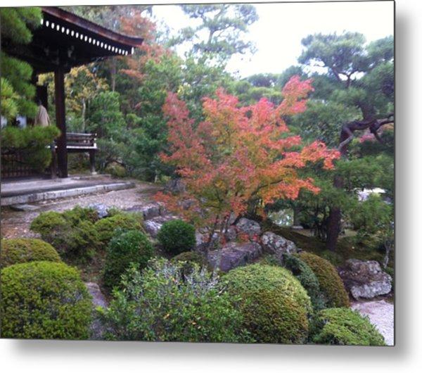 Japanese Temple Peace Metal Print