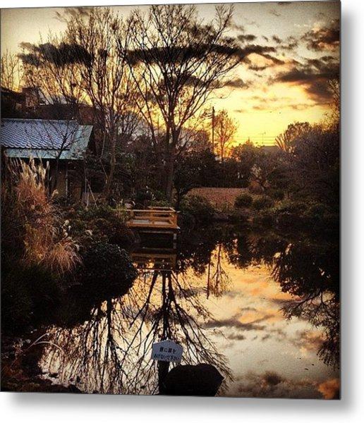Japn Garden#garden #instagram #iphone4s Metal Print