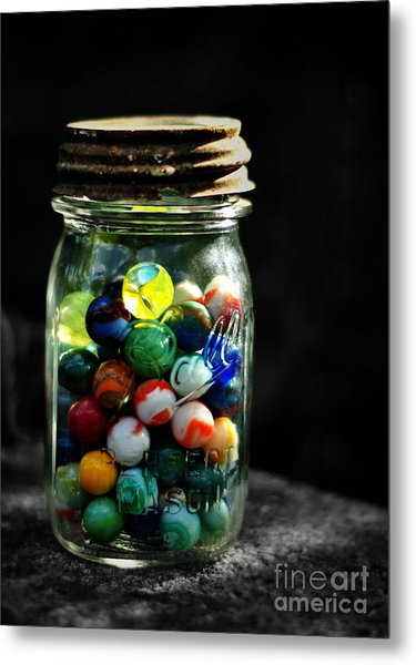 Jar Full Of Sunshine Metal Print