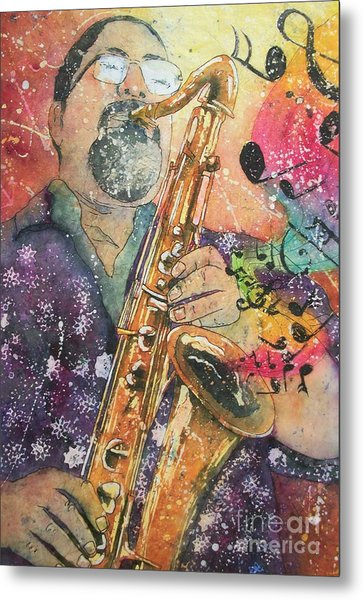 Jazz Master Metal Print
