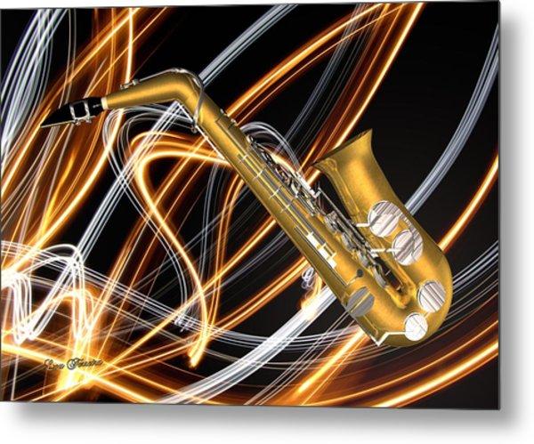 Jazz Saxaphone  Metal Print