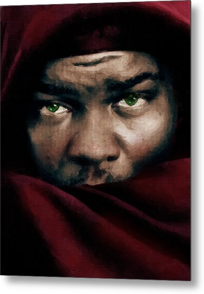 Jealous Othello Metal Print