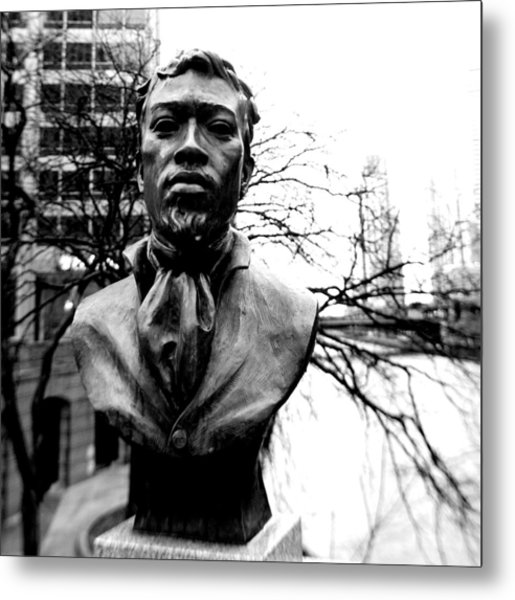 Jean Baptiste Point Du Sable Metal Print