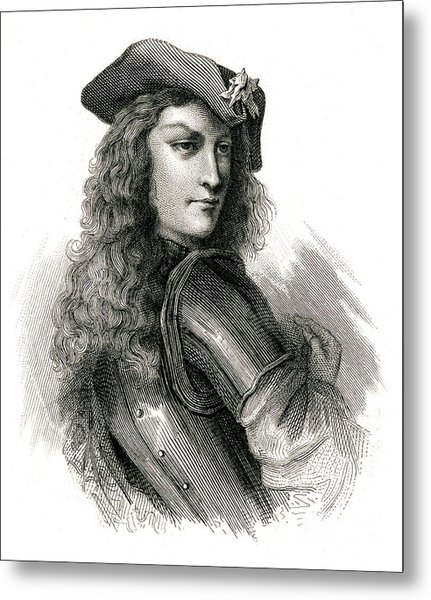 Jean Cavalier  French Insurgent, Leader Metal Print by Mary Evans Picture Library