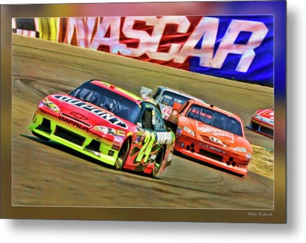 Jeff Gordon-nascar Race Metal Print