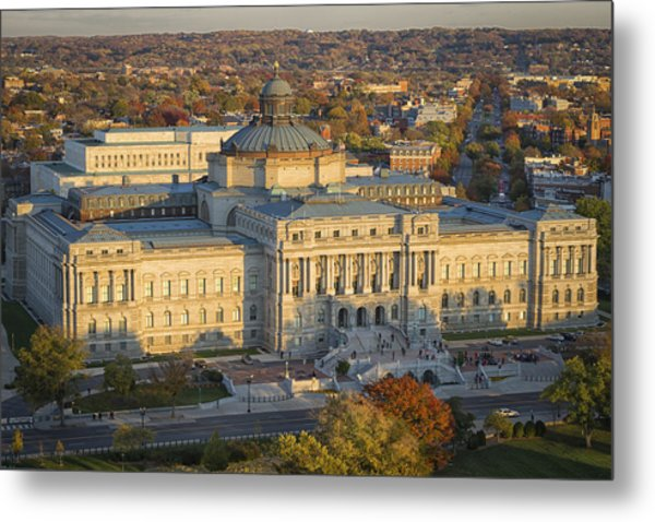 Jefferson Building Metal Print
