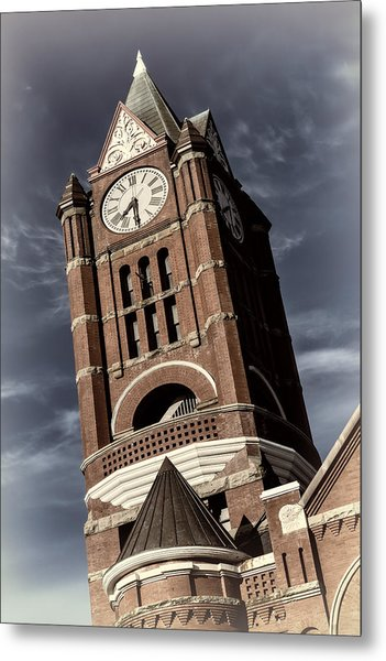 Jefferson County Courthouse Clock Tower Metal Print