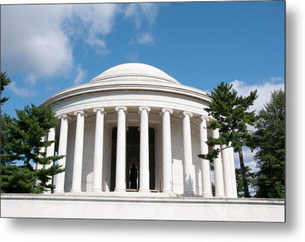 Jefferson Memorial, Washington, Dc Metal Print by Lee Foster