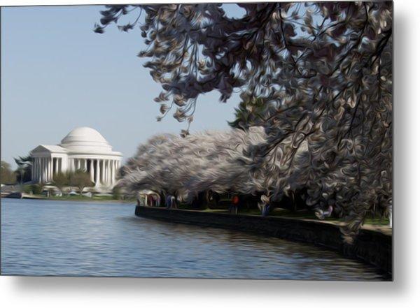 Jeffersonian Blossoms Metal Print by Kelvin Booker