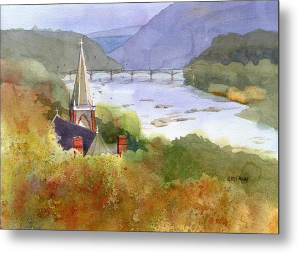 Jeffersons View Metal Print