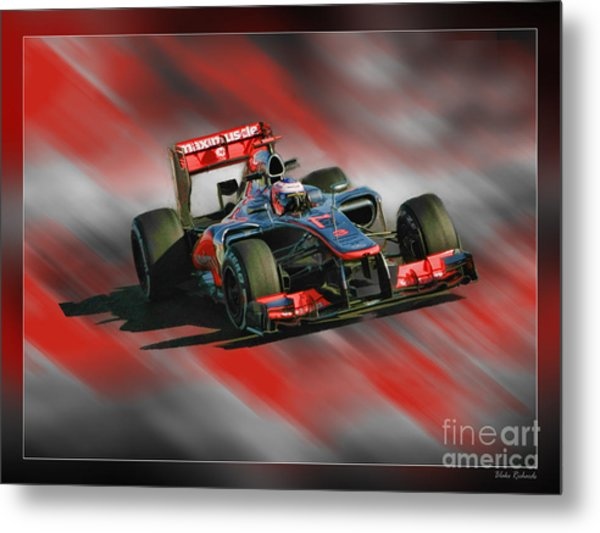 Jenson Button  Metal Print