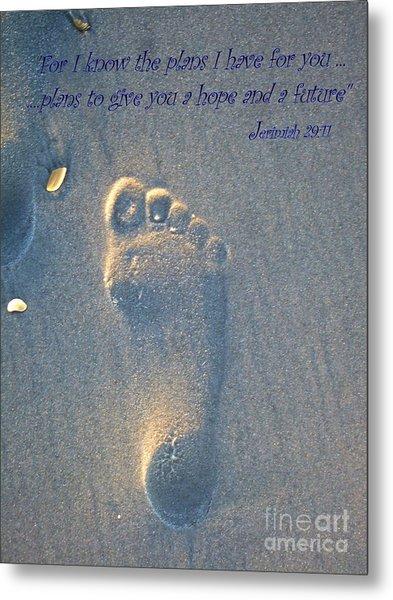 Jeremiah 29 Metal Print