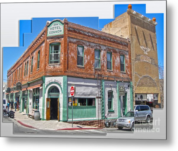 Jerome Arizona - Hotel Conner - 01 Metal Print by Gregory Dyer