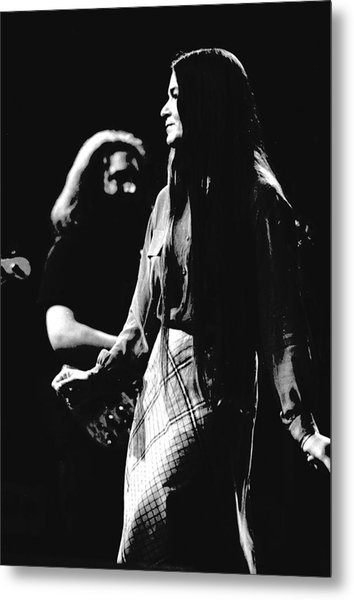Jerry And Donna Godchaux 1978 Metal Print