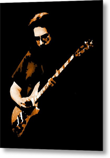 Jerry And His Guitar Metal Print