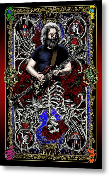 Jerry Card Metal Print