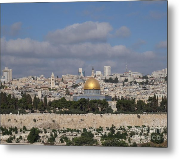 Jerusalem Old City Metal Print