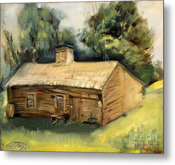 Jesse James Home 1940 Metal Print