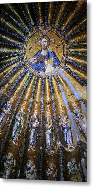Jesus And His Peeps Metal Print
