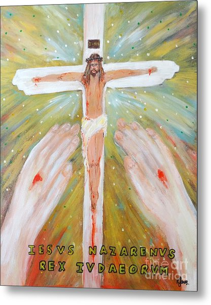 Jesus - King Of The Jews Metal Print