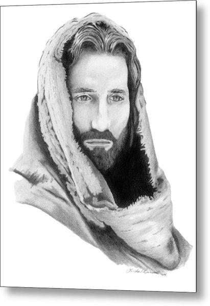 Jesus Metal Print by Linda Bissett