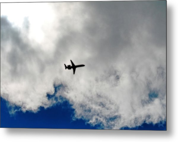 Jet Airplane Metal Print