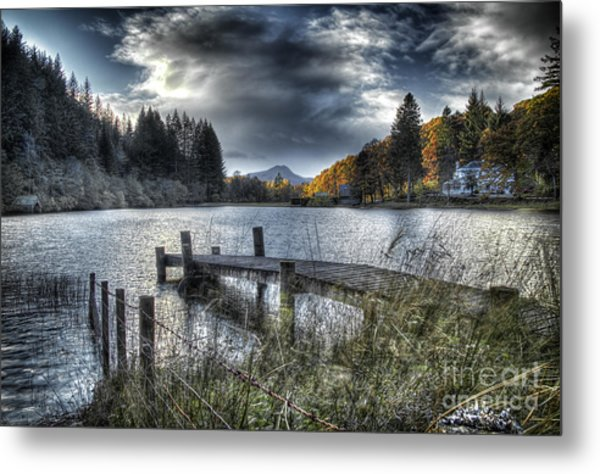 Jetty Blues Metal Print
