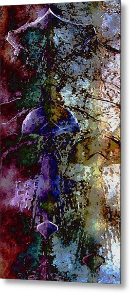 Jewel Tones Metal Print